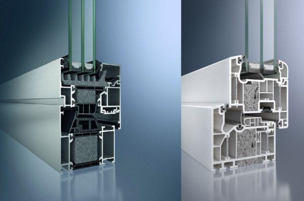 Алюминиевая Пластиковая Конструкция