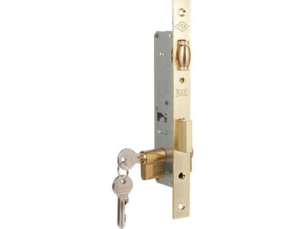 Замок дверной с роликом для алюминиевых дверей дорнмасс 25